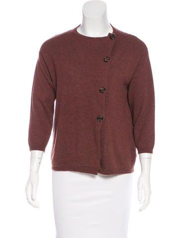 Brunello Cucinelli Cashmere Button-Up Sweater None