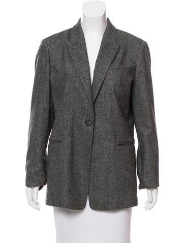 Brunello Cucinelli Silk-Trimmed Cashmere Blazer None