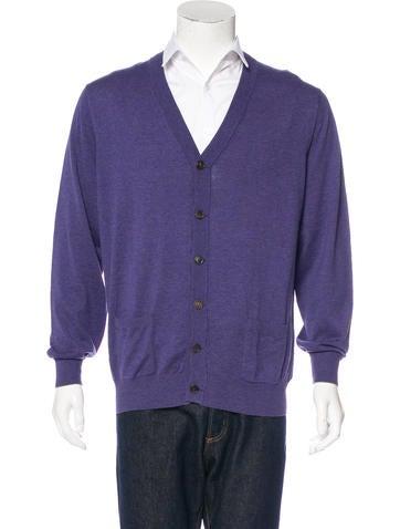 Brunello Cucinelli Knit V-Neck Cardigan w/ Tags None
