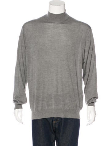 Brunello Cucinelli Cashmere Mock Neck Sweater None