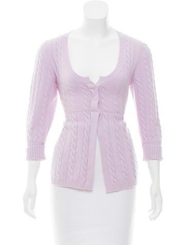 Brunello Cucinelli Cashmere Cable Knit Sweater None