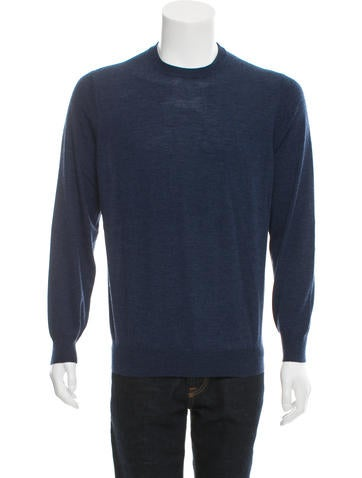 Brunello Cucinelli Wool Crew Neck Sweater None