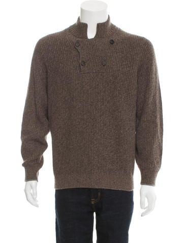 Brunello Cucinelli Cashmere Rib Knit Sweater w/ Tags None