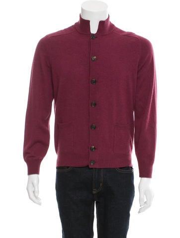 Brunello Cucinelli Cashmere Rib Knit Cardigan None