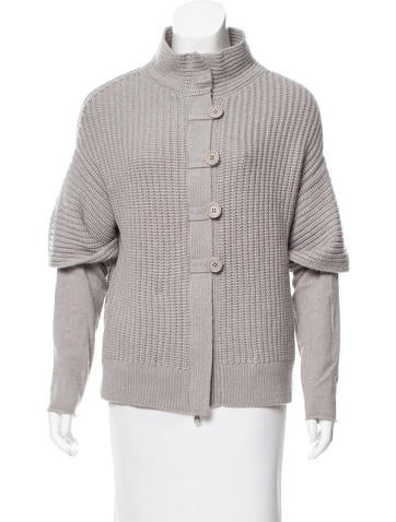 Brunello Cucinelli Rib Knit Cashmere Cardigan None