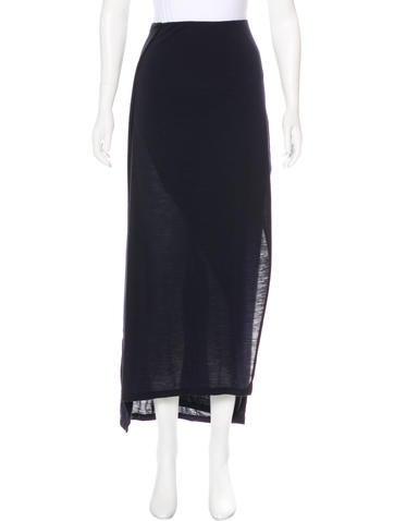 Brunello Cucinelli Wool Midi Skirt None