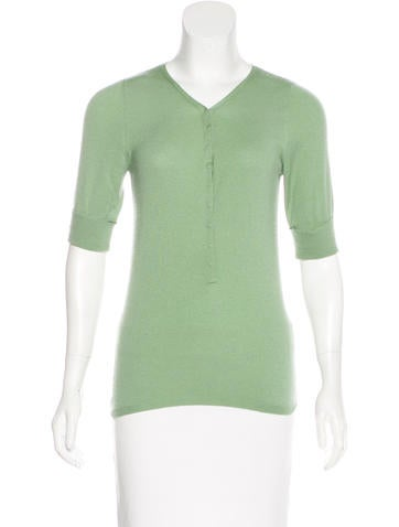 Brunello Cucinelli Cashmere Knit Top None