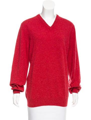Brunello Cucinelli Cashmere V-Neck Sweater w/ Tags None