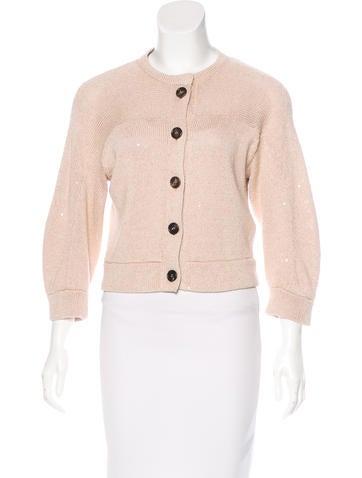 Brunello Cucinelli Button-Up Knit Cardigan None