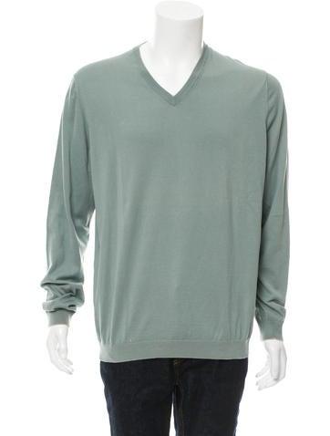 Brunello Cucinelli Rib Knit V-Neck Sweater None
