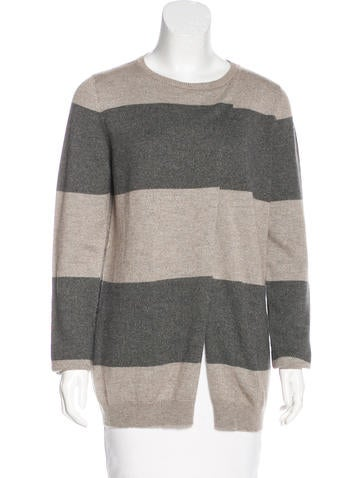Brunello Cucinelli Cashmere Metallic Knit Cardigan None