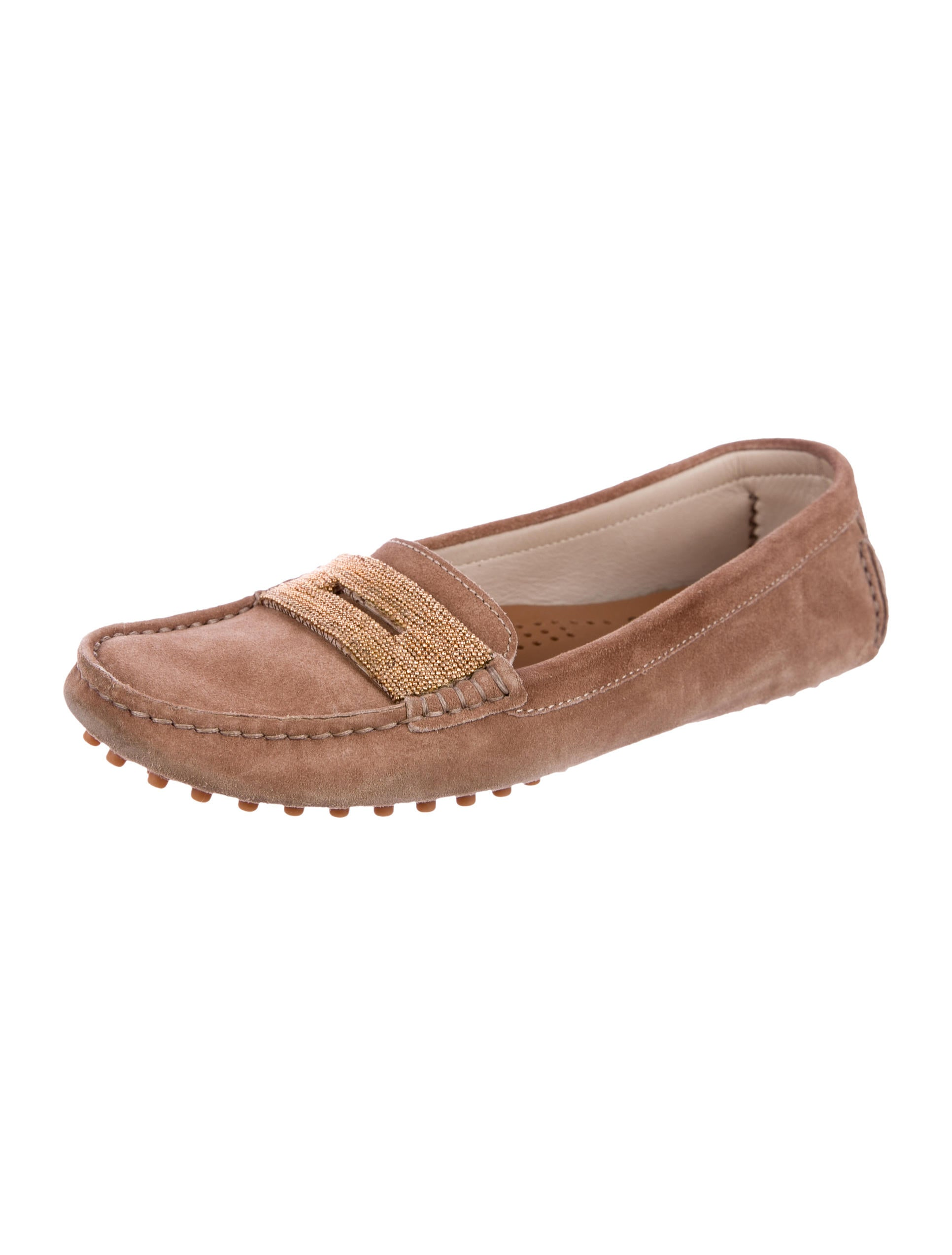Brunello Cucinelli Monili Driving Loafers best sale sale online 18u7K