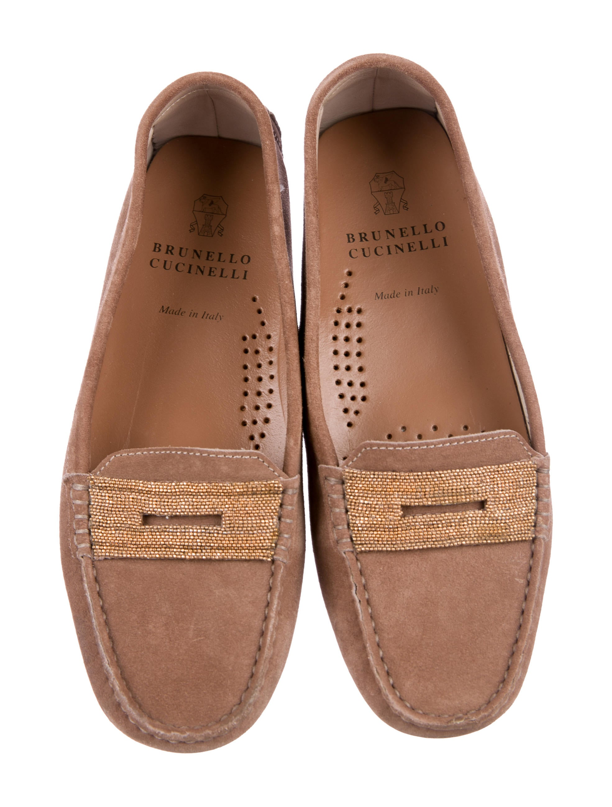 Brunello Cucinelli Monili Driving Loafers Inexpensive clearance clearance store outlet locations for sale cheap new styles m8QRguIEd