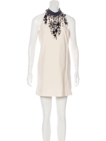 Brunello Cucinelli Sleeveless Embellished Dress None