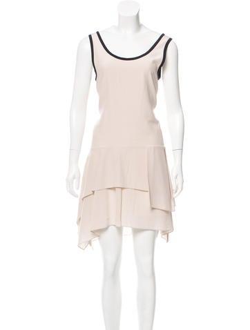Brunello Cucinelli Sleeveless Silk Dress w/ Tags None