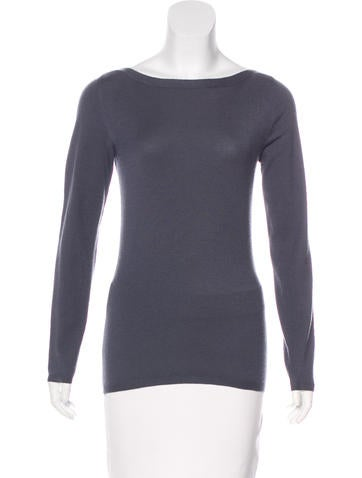 Brunello Cucinelli Long Sleeve Cashmere Top None