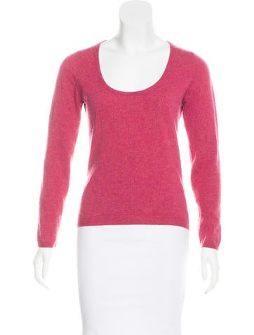 Brunello Cucinelli Cashmere Scoop Neck Top None