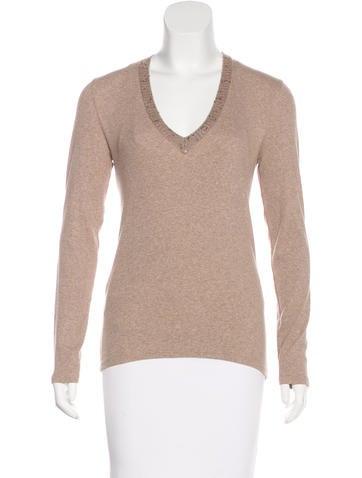 Brunello Cucinelli Cashmere-Blend Sweater None