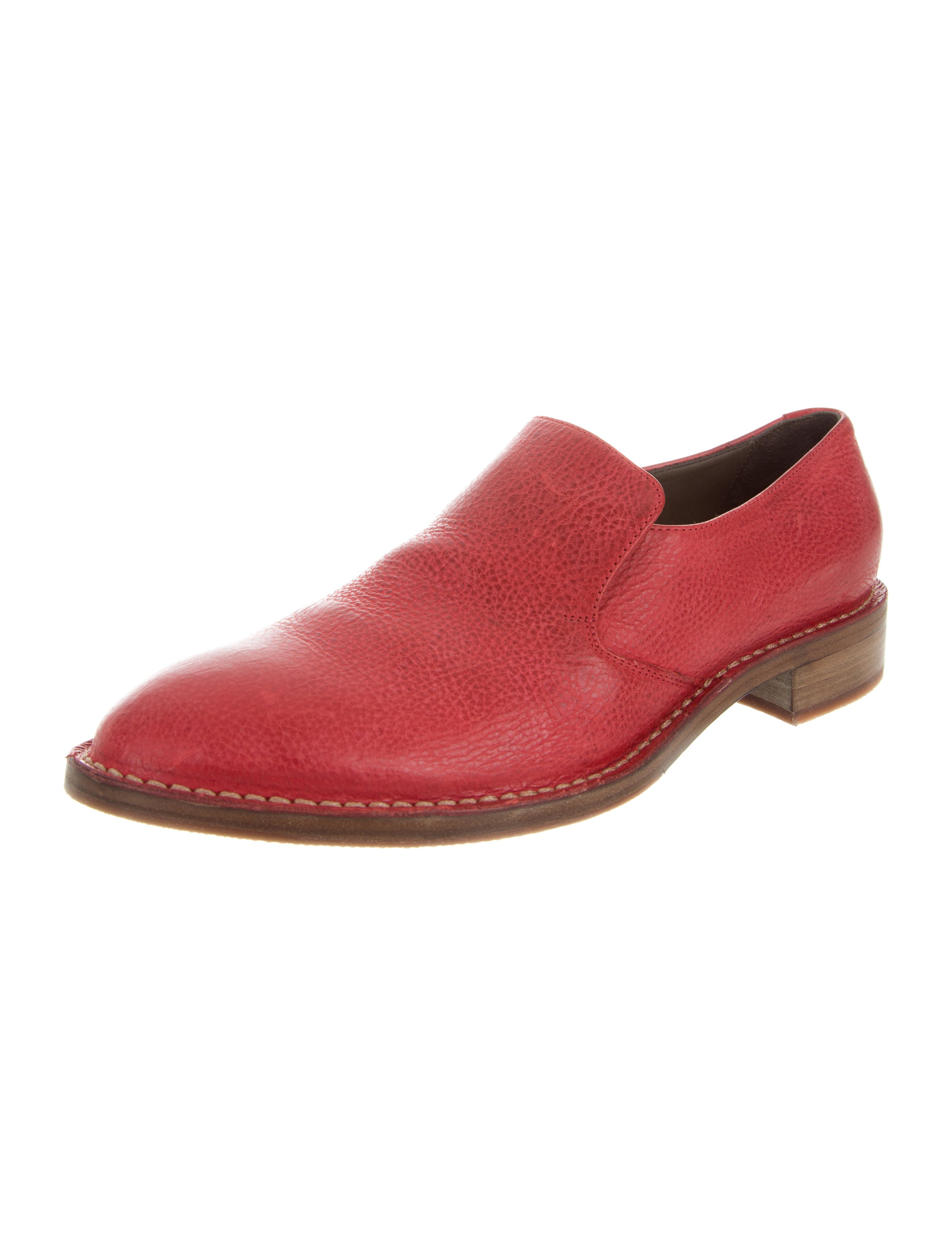Brunello Cucinelli Leather Pointed-Toe Loafers w/ Tags eastbay sale online buy cheap websites discount shopping online q6R1S