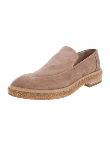 Brunello Cucinelli Monili Suede Loafers w/ Tags sale good selling with mastercard for sale buy cheap reliable tW29sV8g