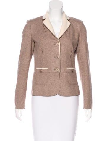 Brunello Cucinelli Cashmere Button-Up Jacket None