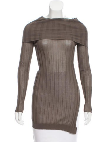 Brunello Cucinelli Rib Knit Turtleneck Top None