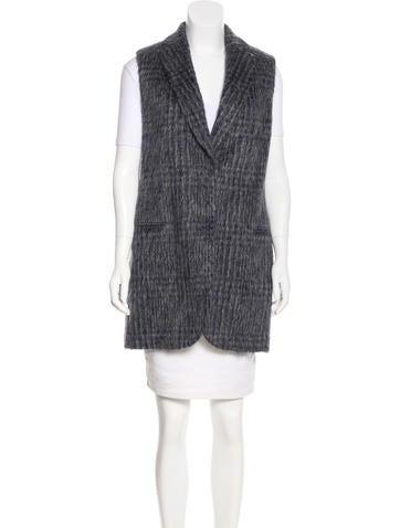 Brunello Cucinelli Sleeveless Wool Vest w/ Tags None
