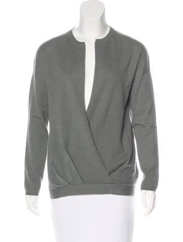 Brunello Cucinelli Cashmere Surplice Sweater None