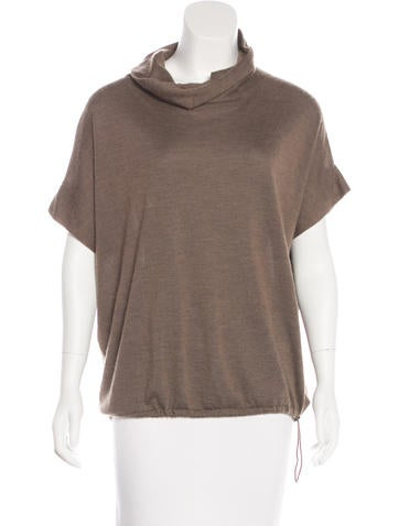 Brunello Cucinelli Cashmere & Silk-Blend Top None