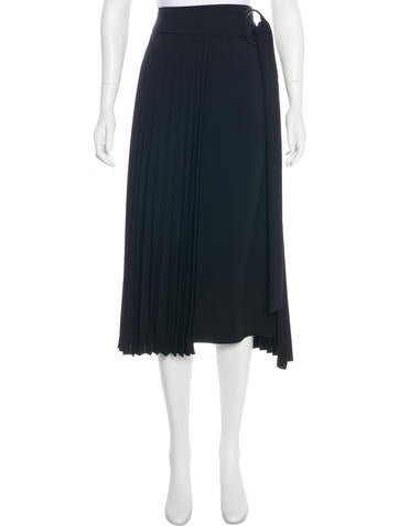Brunello Cucinelli Wool-Blend Skirt None