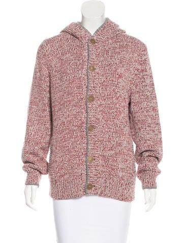 Brunello Cucinelli Hooded Knit Sweater None
