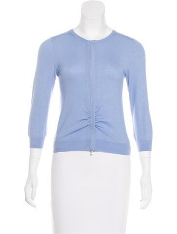 Brunello Cucinelli Zip-Up Cashmere Sweater None