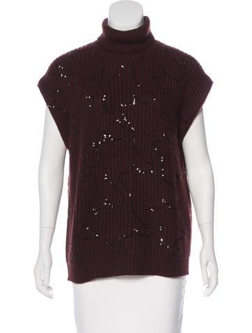 Brunello Cucinelli Embellished Cashmere Sweater None