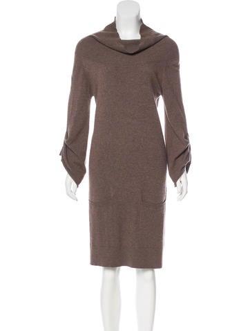 Brunello Cucinelli Cashmere Sweater Dress None