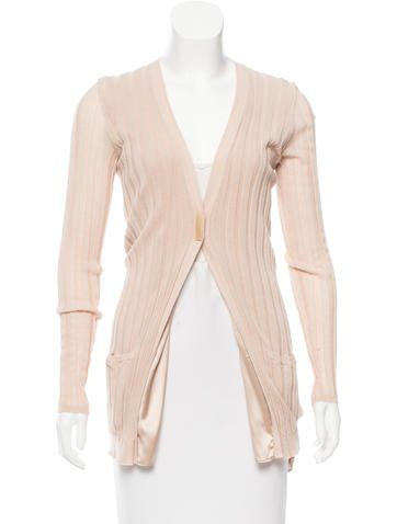 Brunello Cucinelli Rib Knit Longline Cardigan None