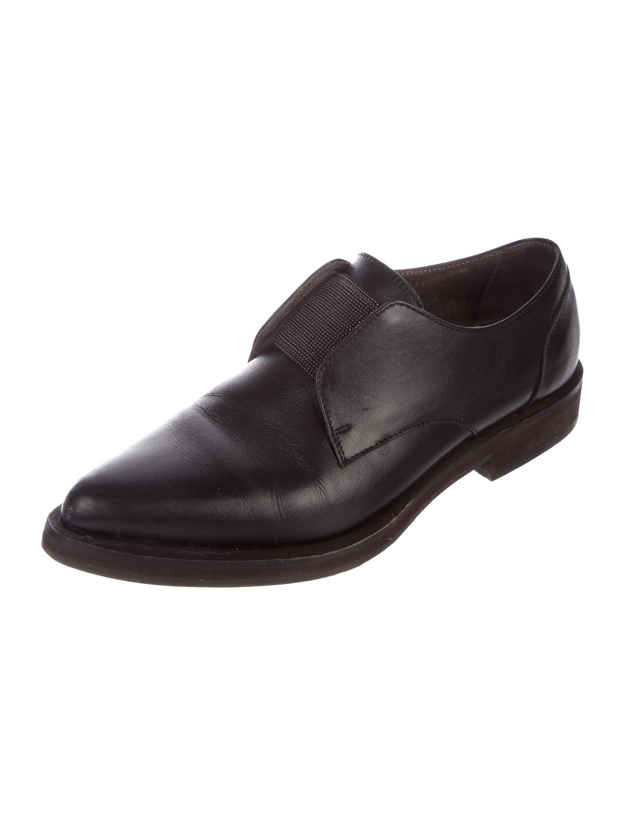 Brunello Cucinelli Monili Leather Oxfords best seller cheap price buy cheap really outlet low shipping free shipping extremely Lm4z0Ro