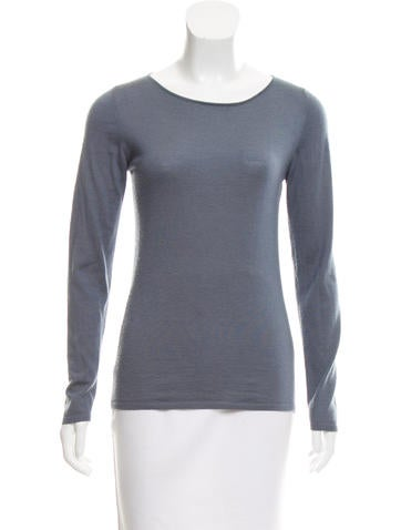 Brunello Cucinelli Cashmere and Silk-Blend Top None