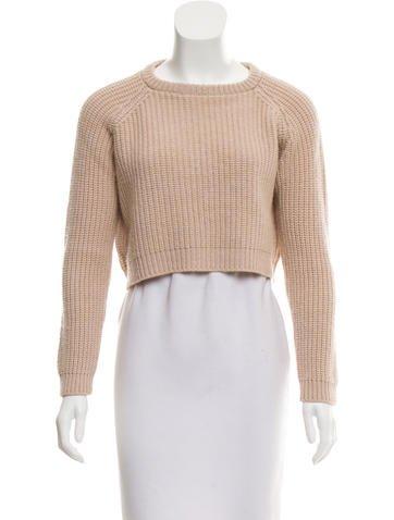 Brunello Cucinelli Cashmere Crop Sweater None