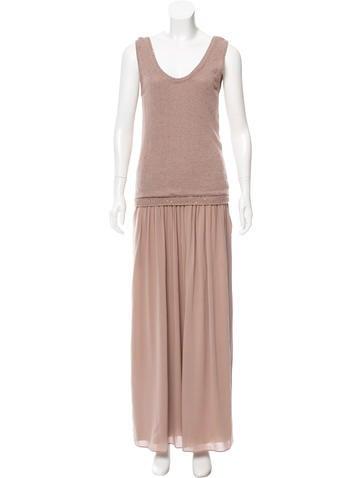 Brunello Cucinelli Sequined Maxi Dress None