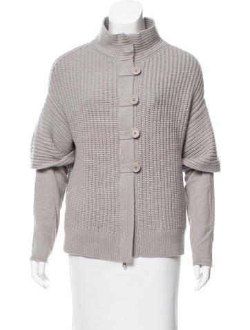 Brunello Cucinelli Rib Knit Cashmere Cardigan None