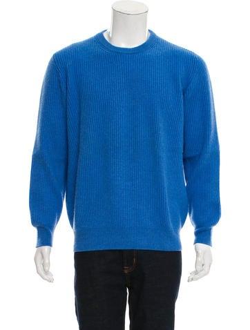Brunello Cucinelli Rib Knit Cashmere Sweater None