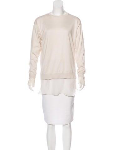 Brunello Cucinelli Cashmere & Silk-Blend Sweater None