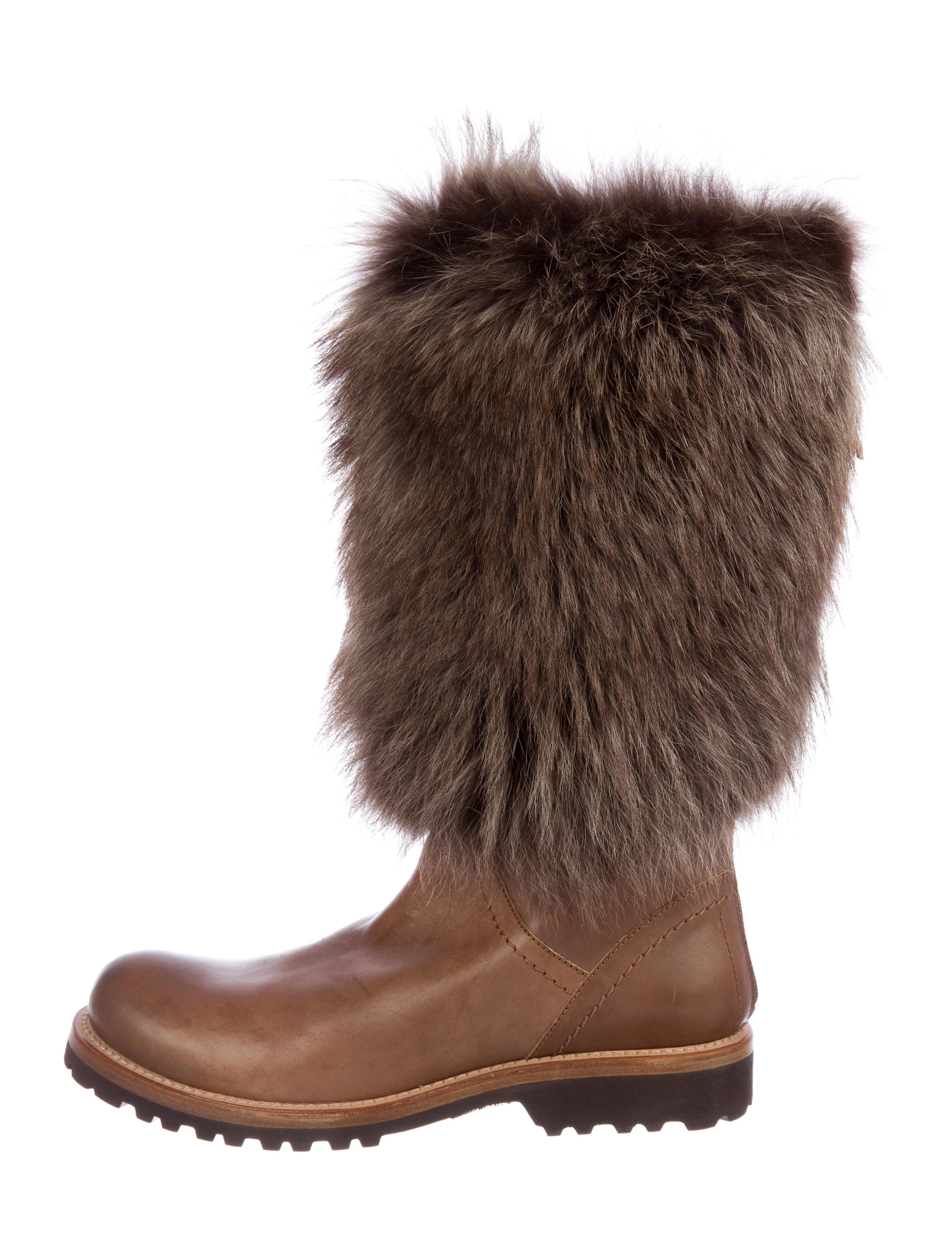 Brunello Cucinelli Leather Mid-Calf Boots w/ Tags perfect OJa2wjznqk