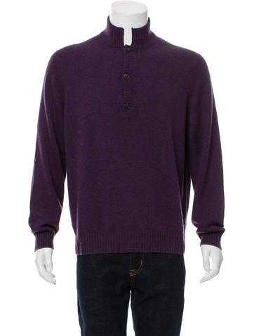 Brunello Cucinelli Cashmere Polo Sweater None