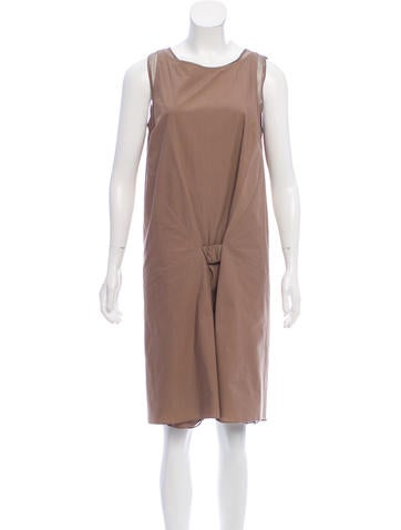 Brunello Cucinelli Layered Knee-Length Dress w/ Tags None