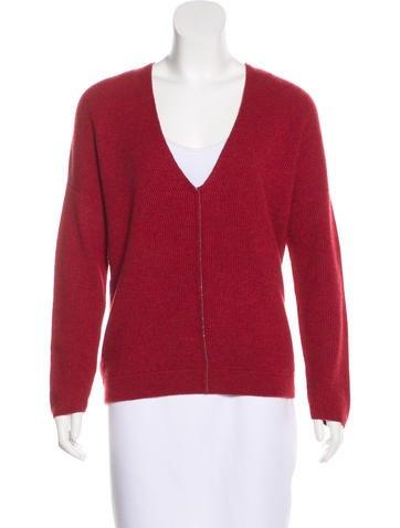 Brunello Cucinelli Embellished Cashmere Knit Sweater None