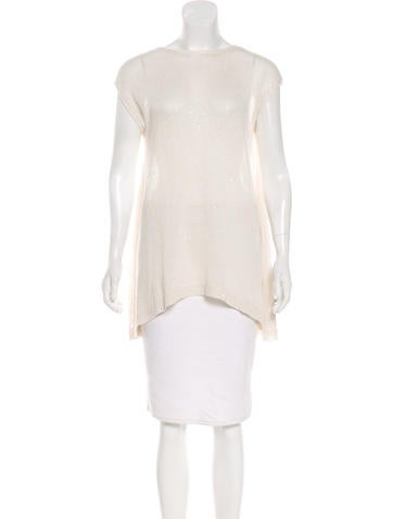 Brunello Cucinelli Sequin Sleeveless Top None