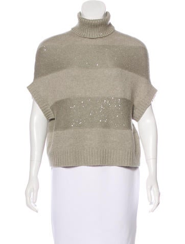 Brunello Cucinelli Cashmere Embellished Sweater None