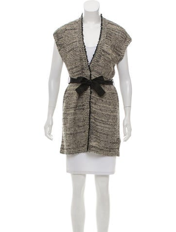 Brunello Cucinelli Embellished Sleeveless Sweater None