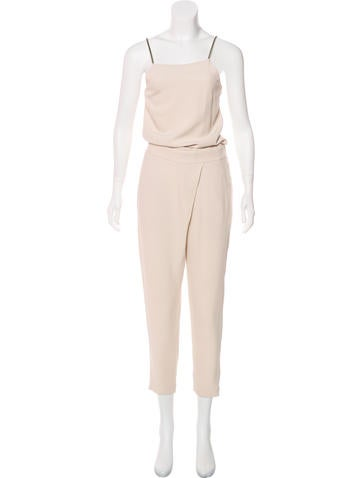 Brunello Cucinelli Embellished Sleeveless Jumpsuit None